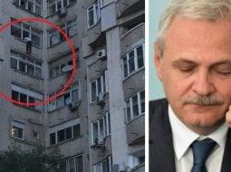 (Foto) Un bărbat a amenințat că se arunca de la etaj, dacă Dragnea nu e eliberat 3