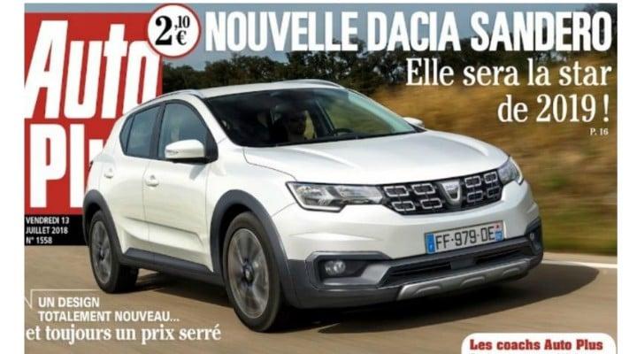 """Nu este un nou Duster. Prima imagine cu noua Dacia Sandero, publicată de presa franceză: """"Va fi starul anului 2019"""" 1"""
