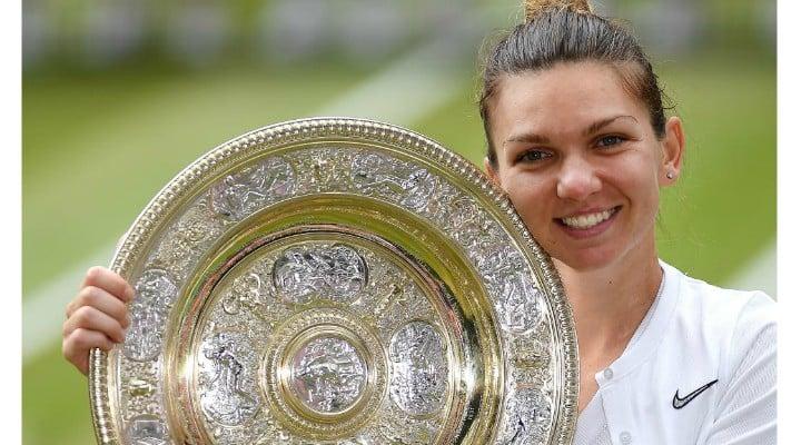 """Simona Halep laudata de Serena Williams: """"A jucat din altă lume. Felicitări, Simona. O jucătoare la acest nivel, trebuie să îți scoți pălăria în fața ei. Nu am avut ce să fac. Mă bucur de ..."""" 2"""